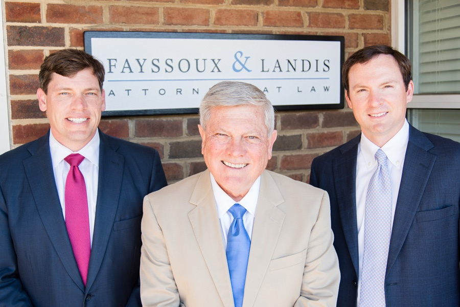fayssoux landis personal injury lawyers in greenville sc