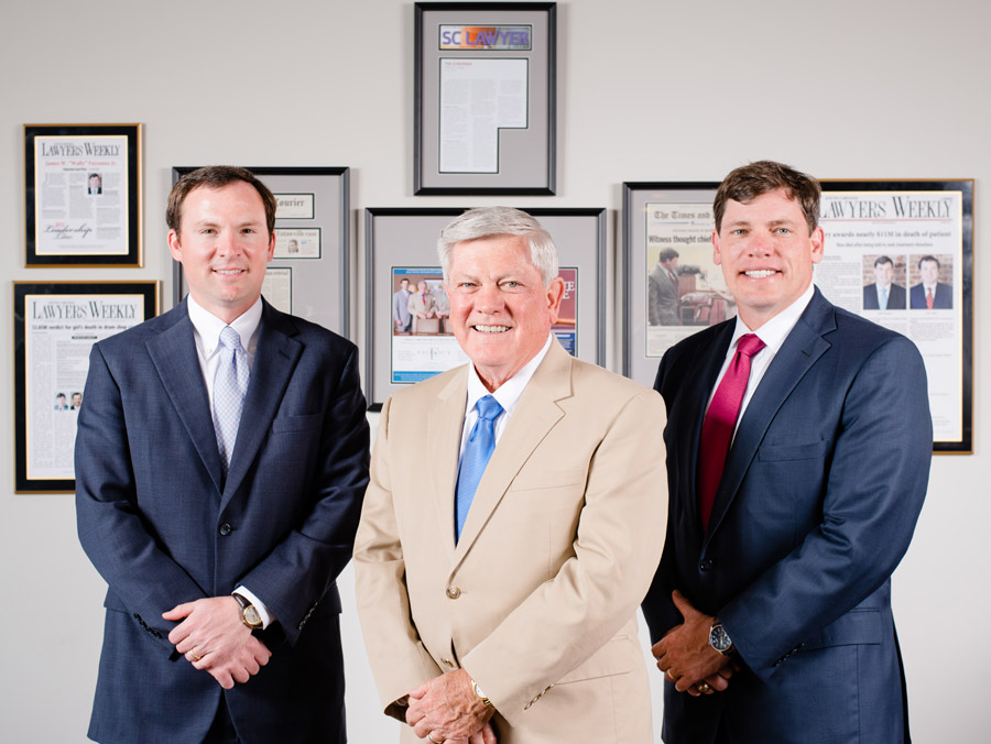 three attorneys at fayssoux and landis