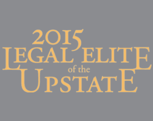 2015 legal elite of the upstate logo