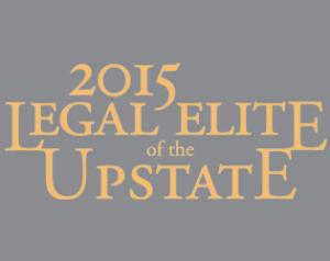 2015 legal elite of the upstate logo