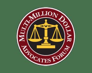 multi million dollar advocates forum logo